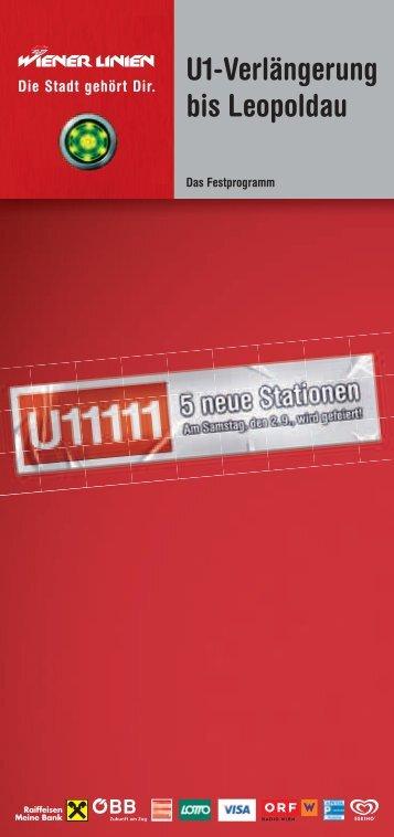 U1 eröffnen! - Geschichte von Hirschstetten