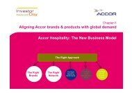 Accor Hospitality: The New Business Model Aligning Accor brands ...