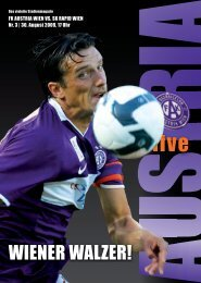 get violett citystore - FK Austria Wien