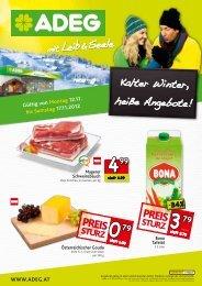Kalter Winter, heiße Angebote! - 123Einkauf.at