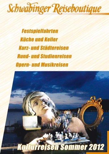 KOMBINATIONSVERLÄNGERUNG 18. – 23. Juli 2012