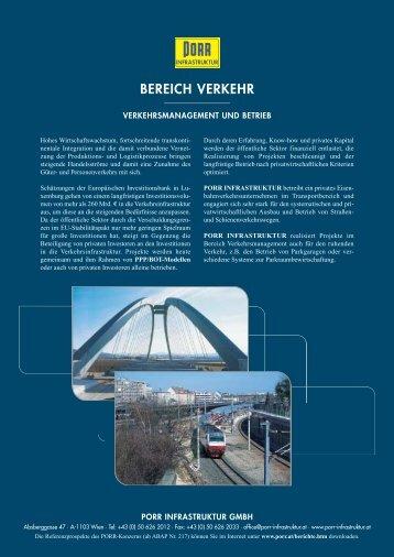 BEREICH VERKEHR