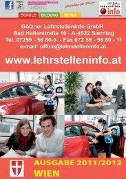www .lehrstelleninfo .a t WIEN