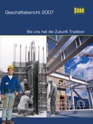 Geschäftsbericht 2007 - Porr