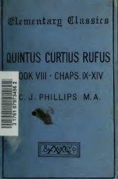 Book VIII (Chaps. ix-xiv); - Index of