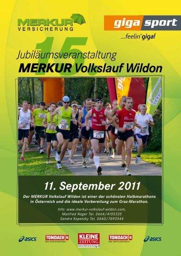 MERKUR Volkslauf Wildon – Facts - Wildoner Radmarathon