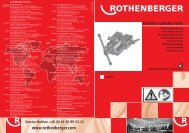 Double Flaring Tool.pdf - Rothenberger South Africa
