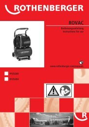 Titelbild ROVAC-1 - Rothenberger South Africa