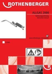 ALLGAS 2000 - Rothenberger South Africa
