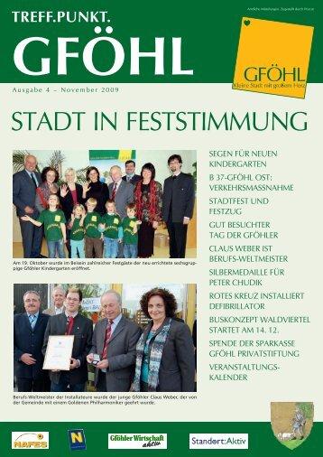 STADT IN FESTSTIMMUNG - Stadtgemeinde Gföhl