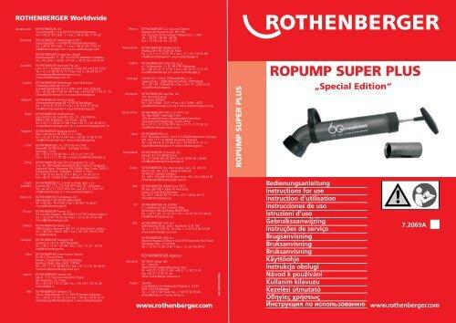 BA ROPUMP Super Plus-1009.cdr - Rothenberger