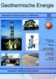 KURZGESCHICHTEN - Geothermie