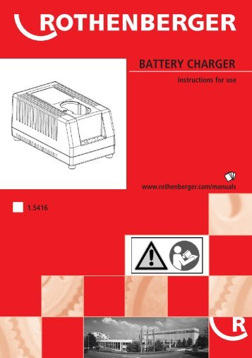 battery charger - Rothenberger South Africa