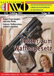 initiative abgelehnt - Interessengemeinschaft liberales Waffenrecht ...