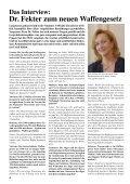 initiative abgelehnt - Interessengemeinschaft liberales Waffenrecht ... - Seite 4