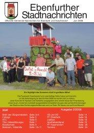 Redaktionsschluss für die Ausgabe 3/2008 - Stadtgemeinde Ebenfurth