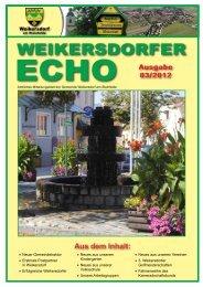 Ausgabe 03/2012 - in der Gemeinde Weikersdorf