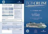 TCB-Cruise Flyer - Elvis Presley Gesellschaft