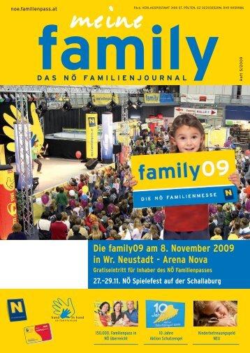 Die family09 am 8. November 2009 in Wr. Neustadt ... - Familienpass