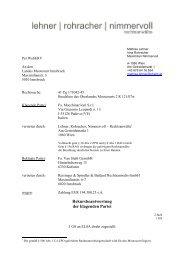 Rekursbeantwortung - vii. austrian moot court competition