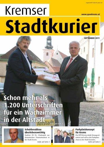 Stadtkurier - SPÖ Krems
