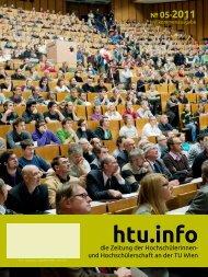 htu.info - HTU HochschülerInnenschaft an der TU Wien