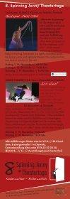 Spinning Jenny Theatertage - Kieselstein - Seite 2