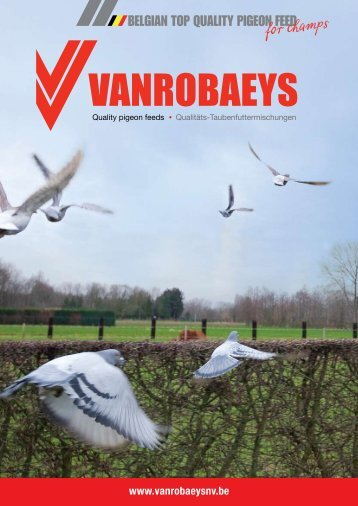 Check out the new leaflet - Vanrobaeys