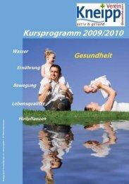 das Programm 2009/2010 im PDF-Format - Kneipp-Verein ...