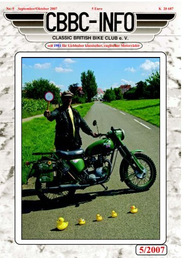 5/2007 - CBBC - Classic British Bike Club
