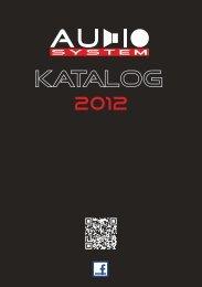 AudioSystem Katalog 2011