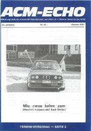 ein Begriff für Sauberkeit Die Münchner Heinzelmännchen - ACM ...