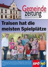 Gemeinde Zeitung 06/2011 - SPÖ Traisen