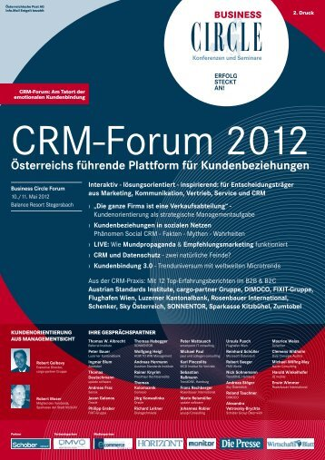 CRM-Forum 2012 - Business Circle