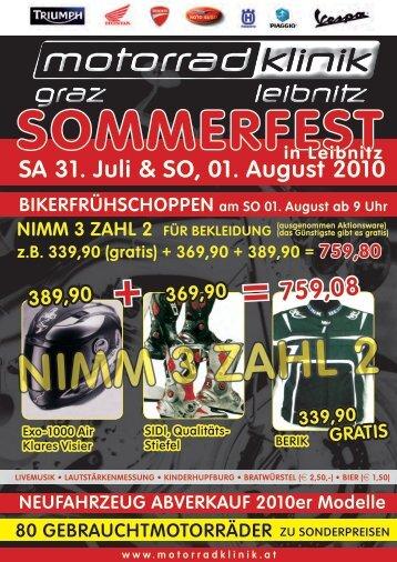 sommerfest - Motorrad-Klinik