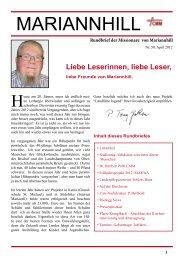 Termine: Runde und hohe Geburtstage: Jubiläen - Schloss Riedegg
