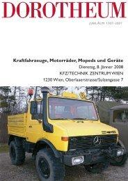 Kraftfahrzeuge, Motorräder, Mopeds und Geräte - Dorotheum