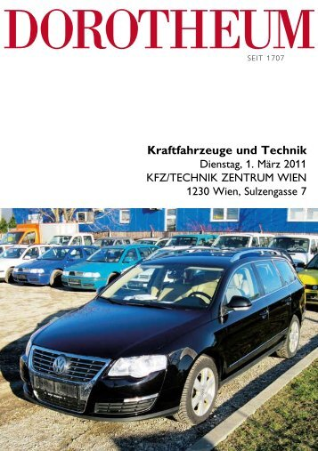 Kraftfahrzeuge und Technik - Dorotheum