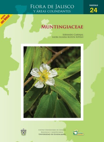 MUNtiNGiAcEAE - Flora de Jalisco - Universidad de Guadalajara