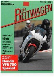 Der Reitwagen Juli 1986 (PDF, 18.876 KB) - Motorradreporter