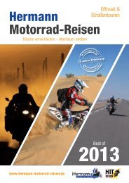 Hermann Motorrad-Reisen