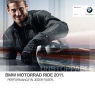 BMW MOTORRAD RIDE 2011. - BMW Motorrad Deutschland