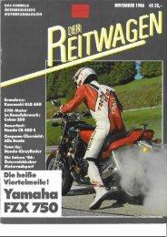 Der Reitwagen November1986 (PDF, 16.840 KB) - Motorradreporter