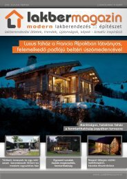 Luxus faház a Francia Alpokban látványos, felemelkedo˝ padlójú ...