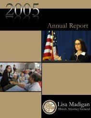 2005 Annual Report.qxp - Illinois Attorney General