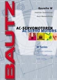 AC-SERVOMOTOREN AC SERVO MOTORS - BIBUS SK, sro