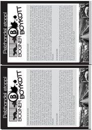 Download Flyervorlage - Offensive gegen die Pelzindustrie