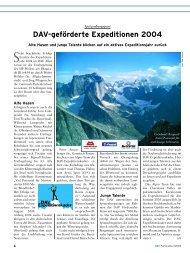 Panorama 1 2005 Horizont - Deutscher Alpenverein