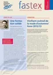 Vivifiant cocktail de la mode d'automne/ hiver 2012/13 Une ... - consign