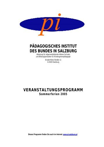 Akademielehrgang Kommunikation - Schulen - Salzburg.at
